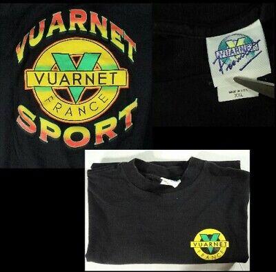 Vintage Vuarnet Sunglasses France T-Shirt Spell Out Logo Mens XL MADE IN (Vuarnet Usa)