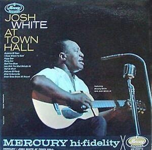 JOSH-WHITE-AT-TOWN-HALL-MERCURY-LP-MONO-PRESSING