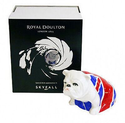 "Royal Doulton Bulldog ""JACK"" - James Bond Skyfall 007 Brand New"
