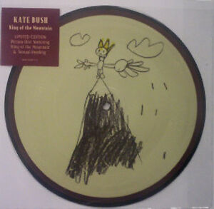 Kate Bush, King of the mountain, NEW/MINT Ltd edition PICTURE DISC 7 inch single