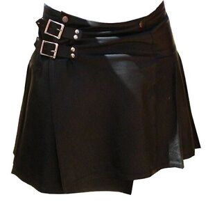 Mens-Soft-Napa-Leather-Kilt-510-New-All-Sizes