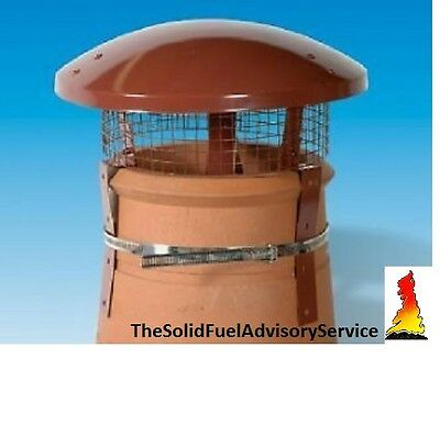 Rain Top Bird Guard Chimney Pot Solid Fuel Coal Fire Stove Gas Rain Colt Cowl Solid Fuel Chimney