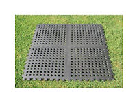 Awning floor tiles with all ramp edgings (4 pack)