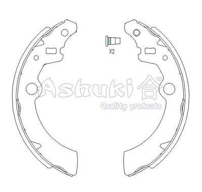 Bremsleitung Suzuki Alto 4 1150 mm Mitte hinten links