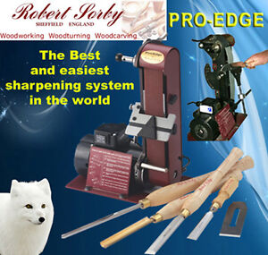 Robert Sorby Deluxe ProEdge Plus Sharpening System PED01A Pro Edge