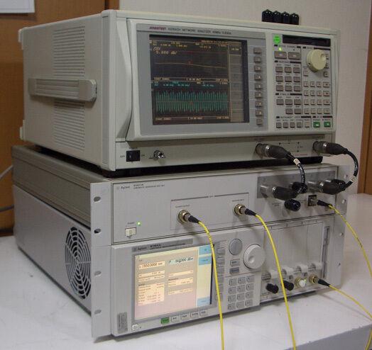 Agilent 83427A 1520-1570nm 2.5GHz Choromatic Dispersion Test Set