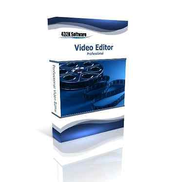 Professional Video Editor - Video and Movie Editing Enhance Software For Windows