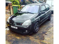 Clio sport 182 for sale/VAN swaps