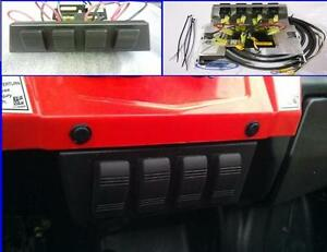 polaris ranger rzr razor 800 s 570 xp900 4 switch panel fuse block