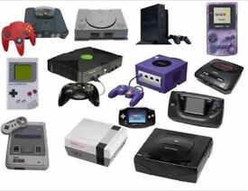 WANTED - Old Video Games & Consoles - Looking to purchase in bulk large collections. Sega Nintendo