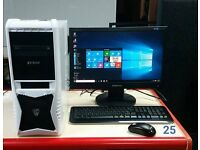 Gaming Computer AMD A8 -6600K APU with Radeon(tm)HD Graphics