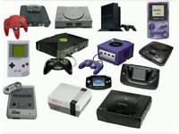 Looking for old consoles and games