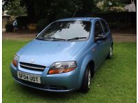 Daewoo kalos 2004 car low mileage very cheap