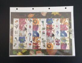 Stamps - GB Royal Mail 6 Smiler Sheets