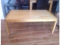 Large Solid Wood Coffee Table Good Quality Very Sturdy Can Deliver