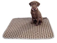 Puppy bundle toilet training / travel large washable mat + 2 sprays suitable 4 rehomed dogs, too