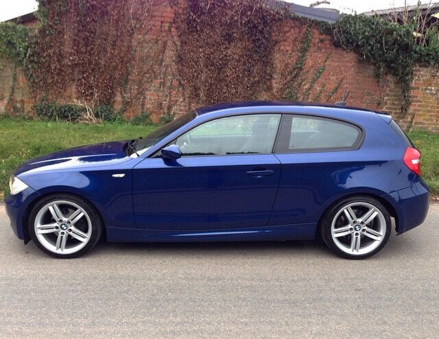 bmw 120d m sport lemans blue 2008 70k in exeter devon gumtree. Black Bedroom Furniture Sets. Home Design Ideas