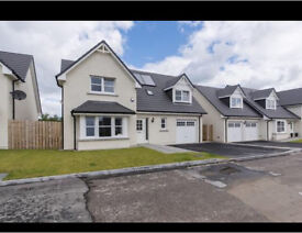 New build 4 bed detached house for rent in Monymusk