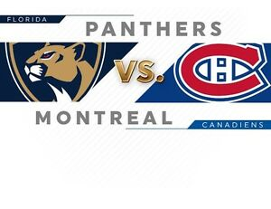 March 30th Canadiens vs Florida Panthers DESJARDINS!!!