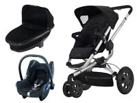 QUINNY -BLACK PUSHCHAIR- USED