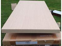 Oak or Wenge Veneered worktops 700x500x38