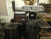 Printing Equipment and Supplies For Sale