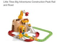 Little Tikes Construction Peak and Rail Road Age 2+