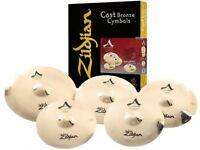 Brand New Zildjian A Custom Set