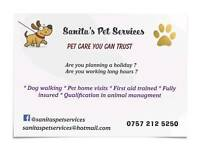 Dog walking & Pet home visits walthamstow