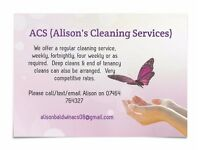 Alisons Cleaning Services (ACS)