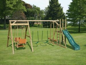 Custom Swings and Play Sets