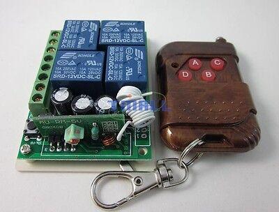 DC12V Wireless 4 Channel Remote Radio Control Switch Stepper Motor