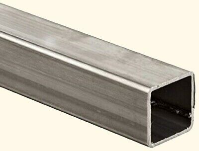 Stainless Steel Hollow Square Tube 1-78 I.d. X 2 O.d. X 6 Ft Long 304