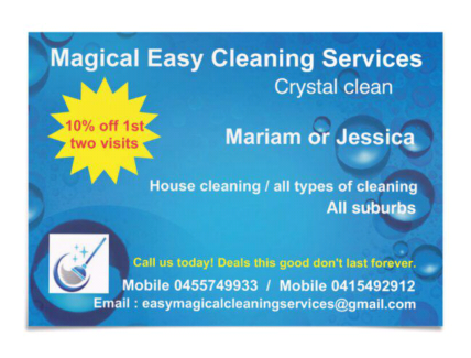Fast and Easy Cleaning Services | Cleaning | Gumtree Australia ...