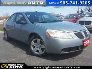 2008 Pontiac G6 SE | 174Km | SAFETY & E-TESTED