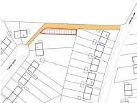 Former garages/land to rent for car storage/buisness opportunity/storage/caravan