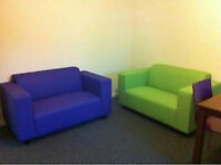 30th Aug - 5 x RELOCATION rooms. Refurbished with new furniture. Living room, 2 bathrooms, garden.
