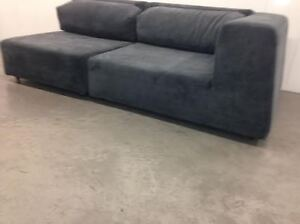 2 pc SECTIONAL couch -  delivery