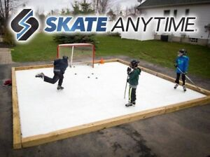 Skate Anytime Synthetic Ice Rink System