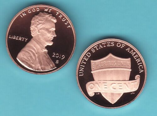 2019  S  Lincoln Cent Penny   PROOF coin