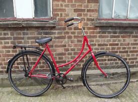 Classic ladies Omabike Omafiet dutch bike BSP - 1 speed, frame size 18in, pedal brake, ready to go