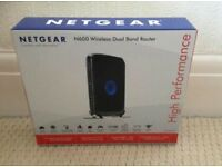 Netgear N600 wireless dual band router-RRP-£80 The best premium router.