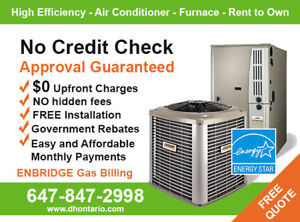 Air Conditioner Furnace Buy Rent Finance Receive Rebates