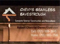 Chevy's Seamless Eavestrough