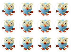 12-Giggle-and-Hoot-HOOT-EDIBLE-IMAGE-CUPCAKE-TOPPERS-DECORATIONS-Icing