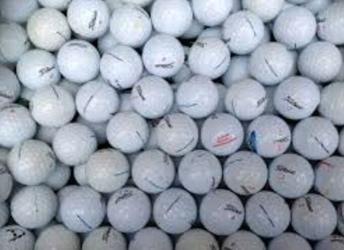 1000 mixed golfballs