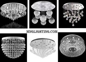 CRYSTAL CEILING LAMPS CHANDELIERS LIGHTING SALE