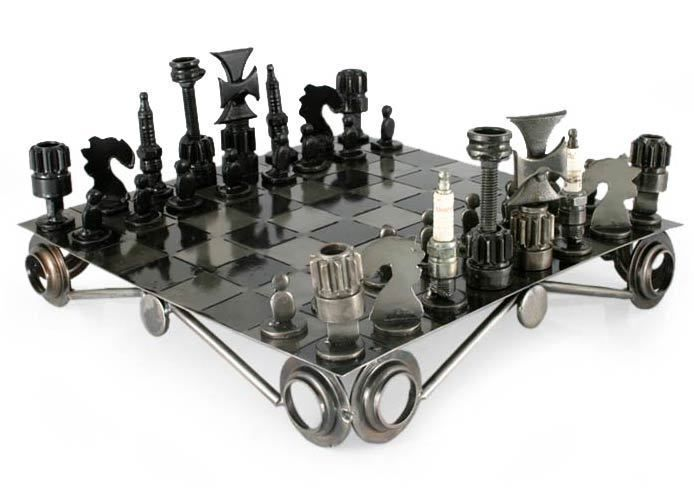 one of the most distinctive aspects of metal chess set pieces is the wide variety of themes in which they appear the traditional shape of chess pieces is