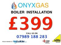 Boiler Installation from only £399 / replacement / swap / repair/change Boiler Service plumbing