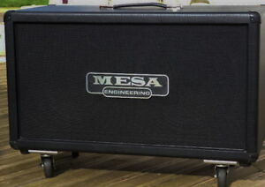 "Great Mesa Boogie Recto 2x12"" with Celestion V30s Cab"